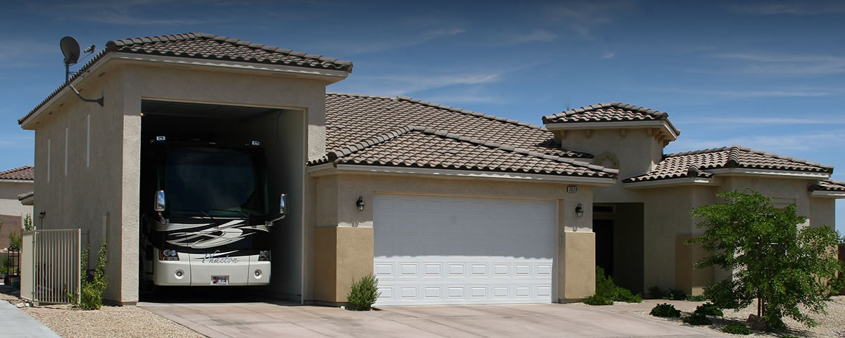Custom Home with RV Garage